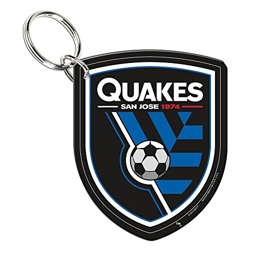 fan products of SOCCER 21124014 San Jose Earthquakes Premium Acrylic Key Ring
