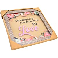 Ceremonic Wooden Frame, Crafted Wooden Frame, Home Decore Natural Wood Frame x 1 pc, Wall and Table Wooden Frame, Bamboo…
