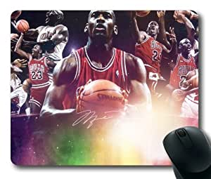 NBA Michael Jordan Chicago Bulls Mouse Pad/Mouse Mat Rectangle by ieasycenter