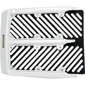 maier radiator cover white for yamaha banshee. Black Bedroom Furniture Sets. Home Design Ideas