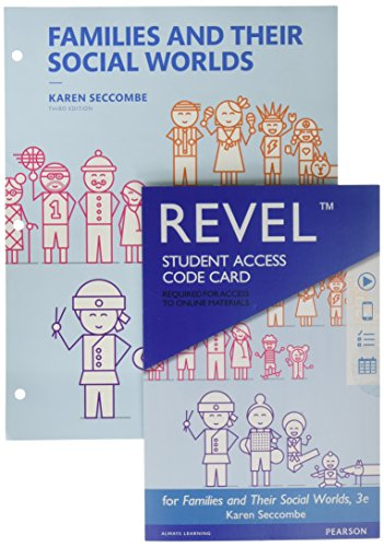 Families and Their Social Worlds, Books a la Carte and Revel Access Card and Discount (3rd Edition)