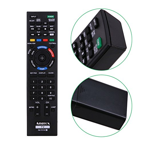 Angrox RM-YD102 Universal TV Remote Control Replacement for Bravia SONY TV Remote RM-YD087 RM-YD RM-YD103 HDTV LCD LED 3D Smart Television -  Angror, 4330955889