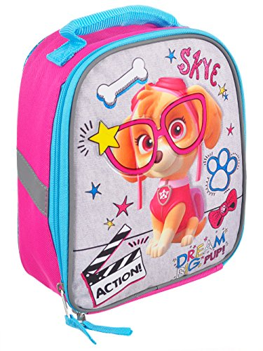 Paw Patrol Lunch Box Soft Tote Kit Insulated Skye Dream Big Pup -