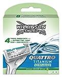Wilkinson Sword Quattro Titanium Sens...