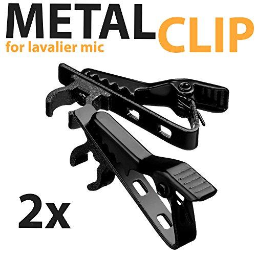 Lavalier Lapel Microphone Clip Replacement product image