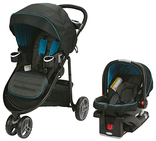 3 Wheel Pram Travel System - 2