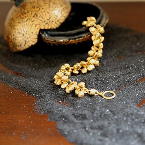 handmade-designer-bells-bracelet-18k-gold-statement-bracelet