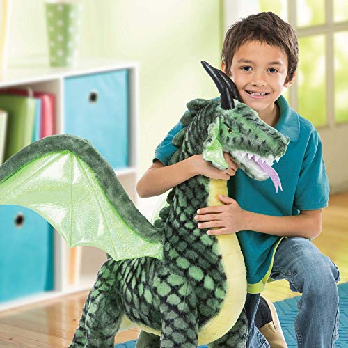 "Melissa & Doug Winged Dragon-Plush Animal, 36 x 40.5 x 16"""