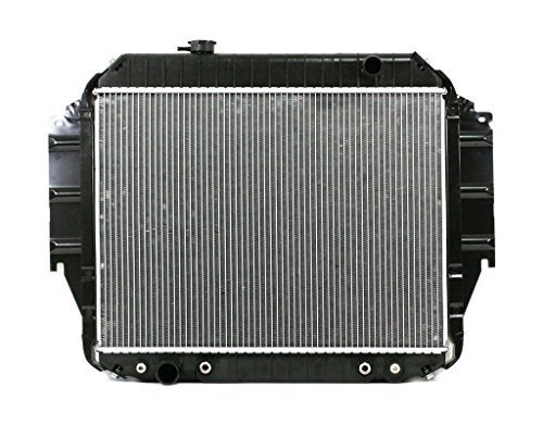 E Series Ford 1977 Van (Radiator - Pacific Best Inc For/Fit 1333 75-91 Ford E-Series Econoline Van V8 5.0/5.8L Plastic Tank Aluminum Core)