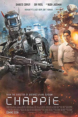 Chappie - Authentic Original 27x40 Rolled Movie Poster at ...