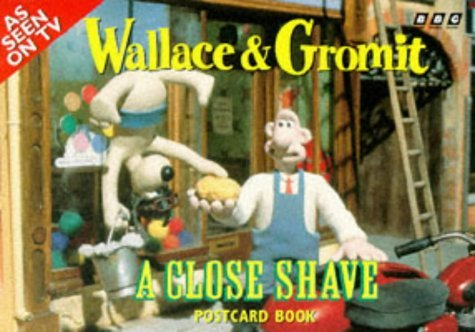 By Nick Park Wallace and Gromit: A Close Shave Postcard Book [Paperback]