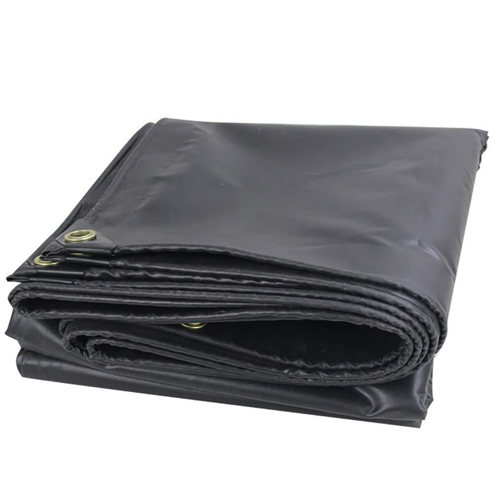 Noir  2.8X2.8m SCJ Pare-Soleil antigel Robuste Contre la poussière à l'extérieur, 11 auvents de Tente Noirs en Tailles 5,8 x 4,8 m 1.9X1.9m Noir
