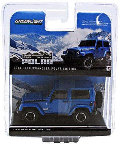 1/43 2014 Jeep Wrangler - Polar Limited Edition (ブルー) 86054