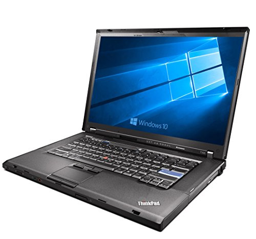 Lenovo ThinkPad T500 Laptop Intel Core 2 Duo 2.26ghz - 4GB DDR3 - 160GB SATA HDD - DVD+CDRW - Windows 10 Home 64bit - (Renewed) (Best Core 2 Duo Laptop)