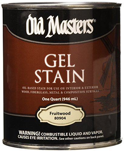 - Old Masters 24989 80904 Gel Stain Fruitwood Oil-Based