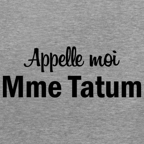 Apelle Moi Madame Tatum - Femme T-Shirt - Gris - XXL