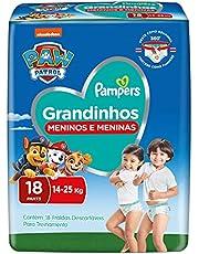 Fralda Pampers Grandinhos 14-25 Kg 18 Unidades, Pampers