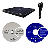 LG 6X WP50NB40 Ultra Slim Portable Blu-ray Writer