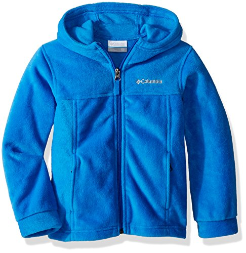 (Columbia Boys' Big Steens II Fleece Hoodie, Super Blue, Small)