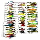 Fishing Lures Minnow Crankbait Wobbler Crank Swimbait Artificial Bait Fishing 43pcs set Mixed