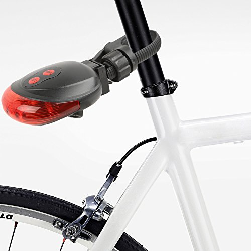 Bike Lane LED Laser Rear Tail Light