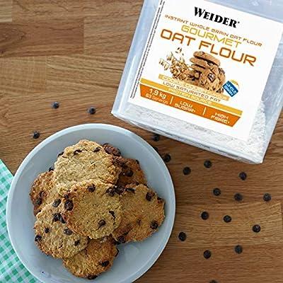 Weider Oat Gourmet. Harina de Avena Integral. Fuente de proteína con bajo contenido en azúcares. Sabor Cookie Dough (1,9 kg): Amazon.es: Salud y cuidado personal