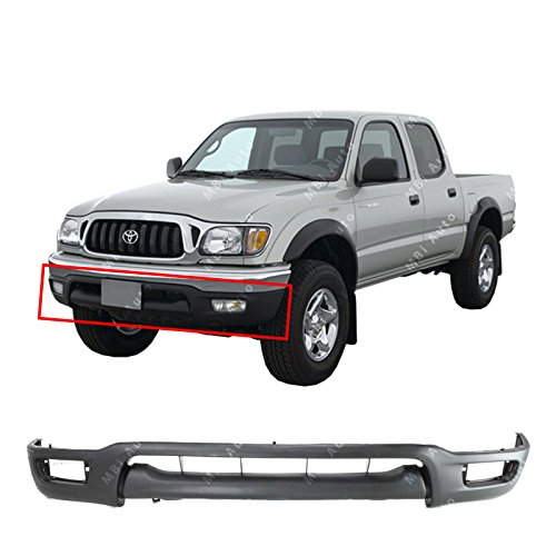 (MBI AUTO Textured, Front Bumper Lower Valance Air Deflector for 2001 2002 2003 2004 Toyota Tacoma Pickup 01-04, TO1095196)