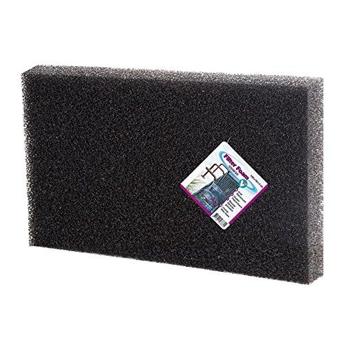 Filterschaum 100x50x2cm grob Filtermatte Filterschwamm Filterschaumstoff