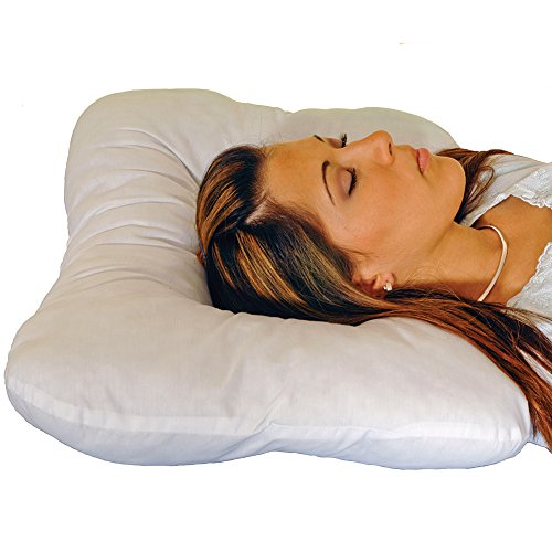 The Eclipse Easy Sleep Pillow Supports Head Neck - For Side or Back Sleepers