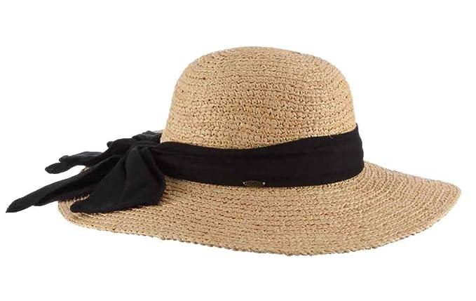 ebb0768ab SCALA Women's One Size Big Brim Raffia Hat