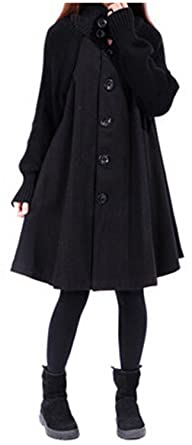 Special Beauty Nice Outwear Coat Abrigos Mujer Autumn And Winter Cloak Outerwear Women Wool Coat Long