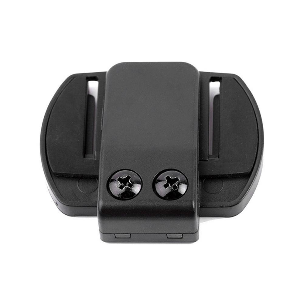 SinceY Clip De Auriculares con Intercomunicador para V6 V4 Moto BT Bluetooth Interphone Auriculares Auriculares Walkie Talkie 2 Piezas