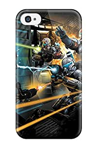 Tpu Shockproof/dirt-proof Star Wars Iphone Cover Case For Iphone(4/4s)