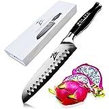 "Zelite Infinity Santoku Knife - Comfort-Pro Series - High Carbon Stainless Steel Knives X50 Cr MoV 15 >> 7"" (180mm)"