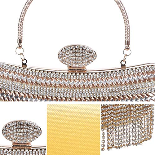 JUZHIJIA Mini Dress Hand Celebrities Spanning Bag Chain Bag Wedding Hand Dinner Fry Skew rqrPw4T