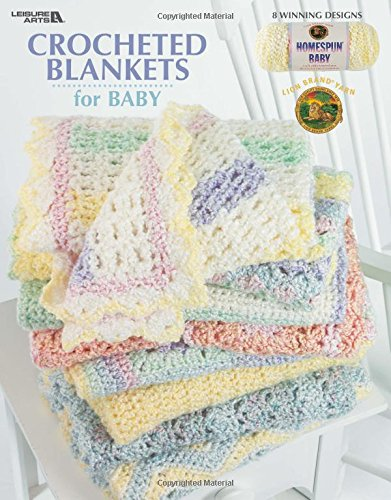 Crocheted Blankets for Baby (Leisure Arts #3527) Crochet Baby Blanket