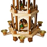 BRUBAKER Wooden Christmas Pyramid - 18 Inches - 3