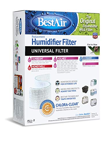 BestAir ALL-2, Holmes Universal Replacement, Paper Wick Filt