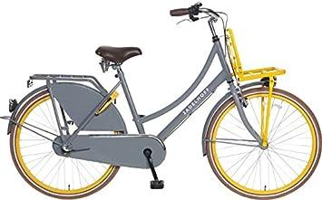 ZD – Bicicleta clásica para mujer (26, 3 marchas poza Select gris ...