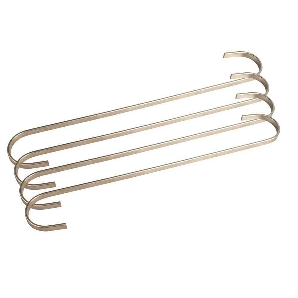 S Hooks VIPITH 12 Pack 3.35 inch S Shaped Hanging Hooks Rustproof Black Stainless Steel S Type Hooks Hangers for Pans Pots Plants Bags Towels Mugs in Kitchen Bedroom Bathroom Office
