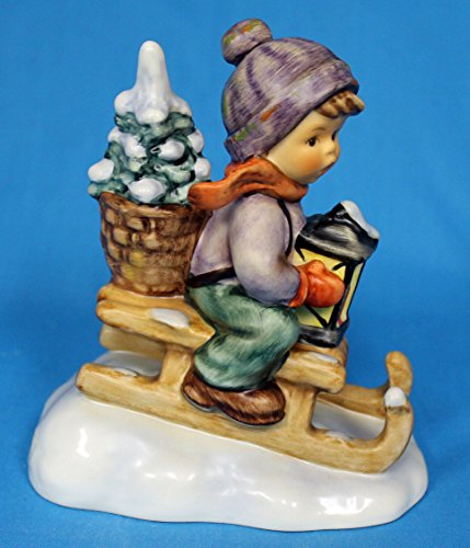 HUMMEL MI HUMMEL FIGURINES RIDE INTO CHRISTMAS 4.25""