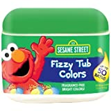 Sesame Street Fizzy Tub Colors 50 Count