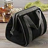 Image of Fit & Fresh Men's Big Phil Insulated Lunch Bag with Ice Pack, Black