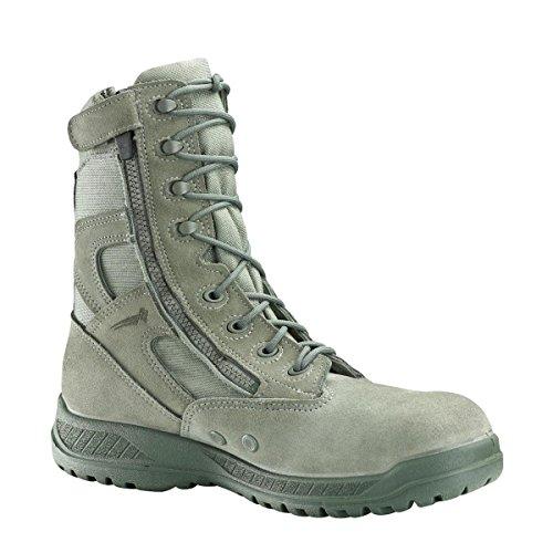 (Belleville 610Z Hot Weather Sage Green Air Force Side Zipper Boot)