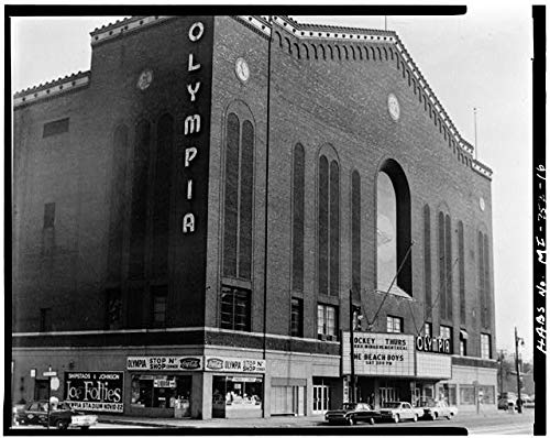 - HistoricalFindings Photo: Olympia Arena,5920 Grand River Avenue,Detroit,Wayne County,MI,Michigan,HABS,15
