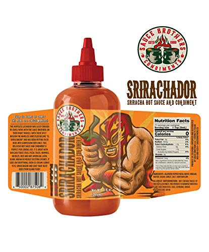 Sauce Brothers Srirachador Red - Jalapeno Melindas