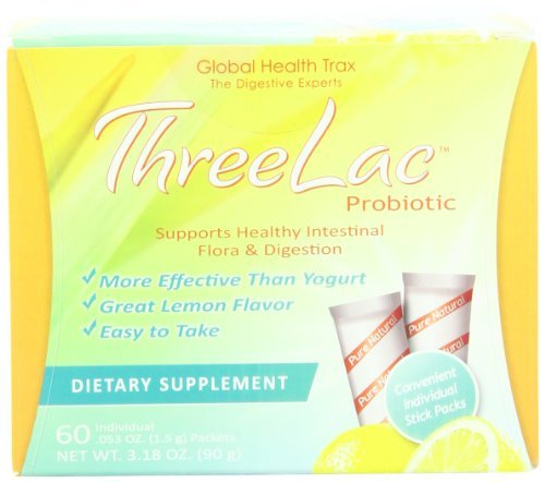 THREELAC Probiotic, 60 Packets Personal Healthcare / Health Care