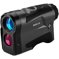 BOBLOV 650Yards Golf Rangefinder with Pinsensor 6X Magnification Support Vibration and USB Charging Flag Lock Distance Speed Measurement Range Finder