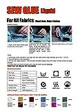 Visbella 1 Min Quick Bonding Fast Dry Sew Fabric