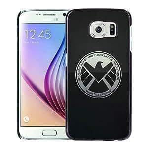 Popular Sale Samsung Galaxy S6,Avengers Shield Black Unique Custom Samsung Galaxy S6 Phone Case